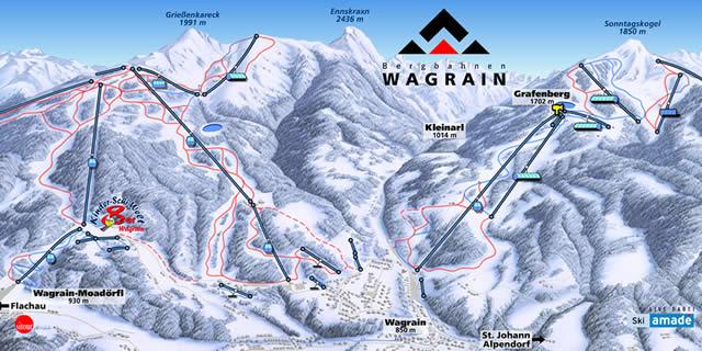 Skigebied WAGRAIN